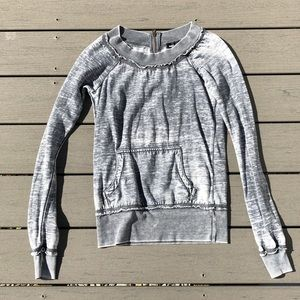 Wet Seal Grey Sweatshirt